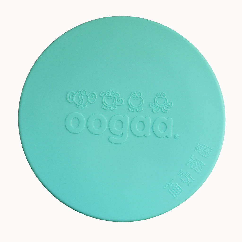 Oogaa bowl lids jewel blue flatlay view