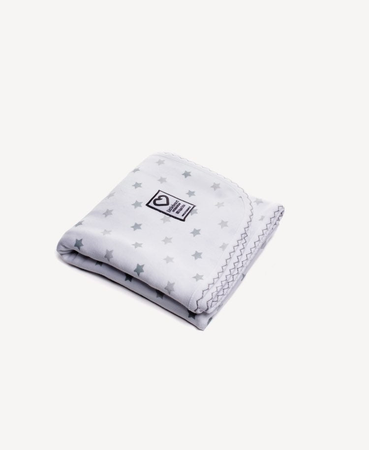LittleHeart Star Blanket Grey