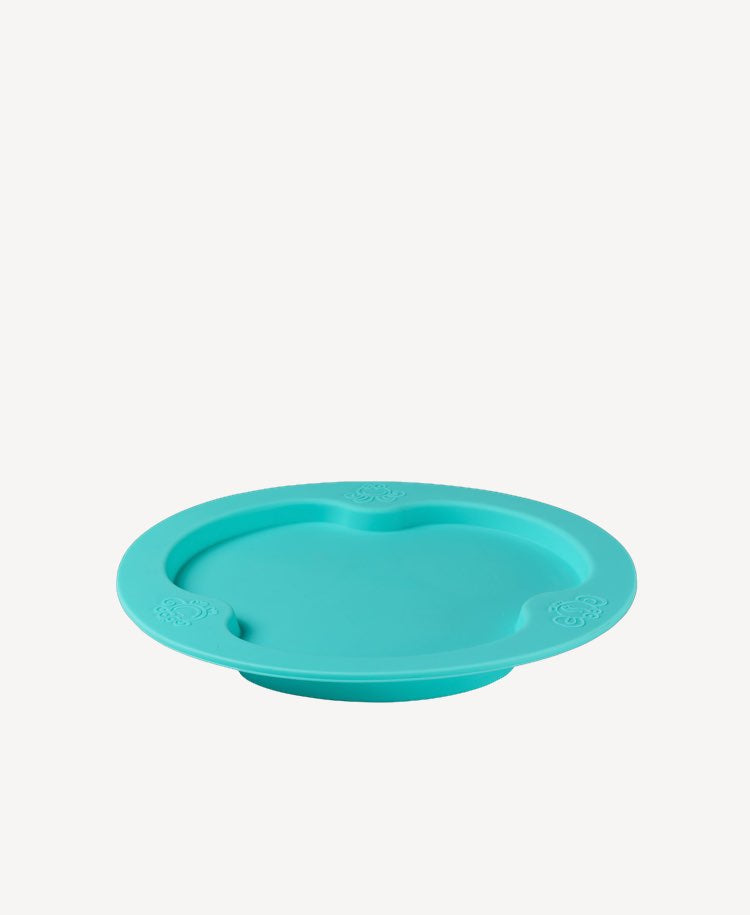 Oogaa Jewel Blue flat plate