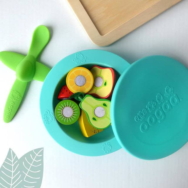 We are proud to be the exclusive stockist of Oogaa Baby  in the UK! Playful and plastic-free spoons, bowls, plates and placemats.With plane and train spoons and bowls with lids these are the ultimate mealtime hack