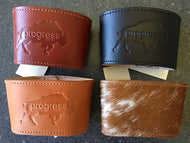 Leather Coffee Cup Sleeves