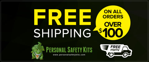 Personal Safety Kits Free Shipping!