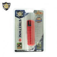 Lab Certified Streetwise 18 Pepper Spray 1/2 oz HARDCASE RED