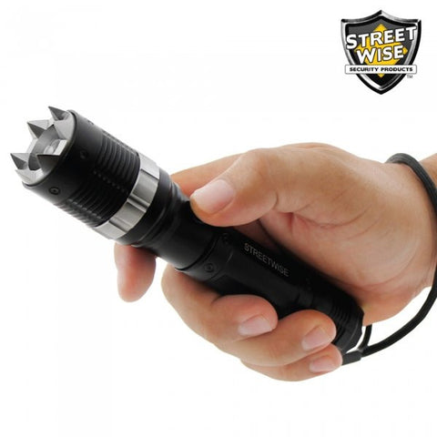 Streetwise Cree LED Flashlight w/ Retractable Spikes