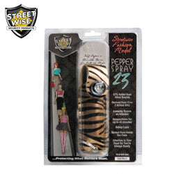 Streetwise Fashion Model Pepper Spray 23 Tan & Black