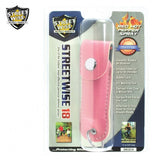 Lab Certified Streetwise 18 Pepper Spray, 1/2 oz. Soft case PINK
