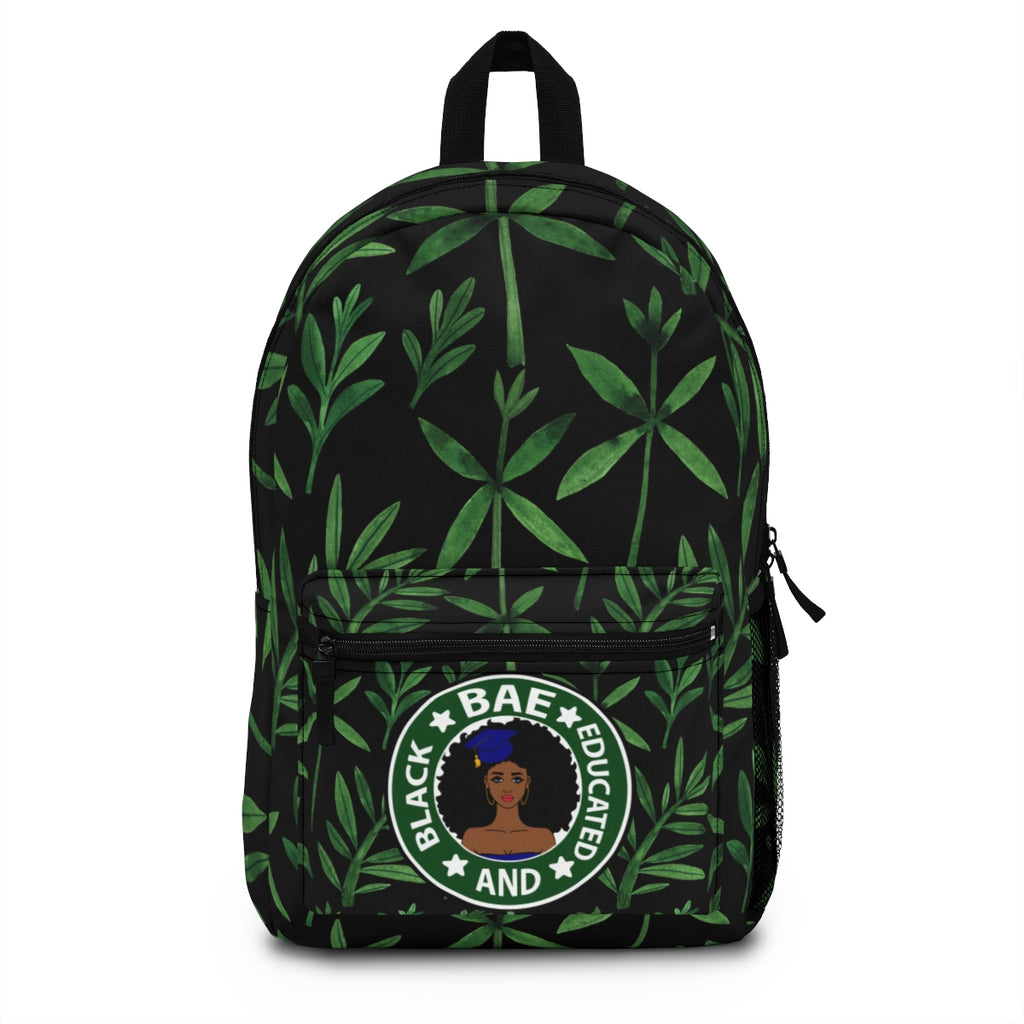 """Black And Educated"" Backpack (Made in USA)"