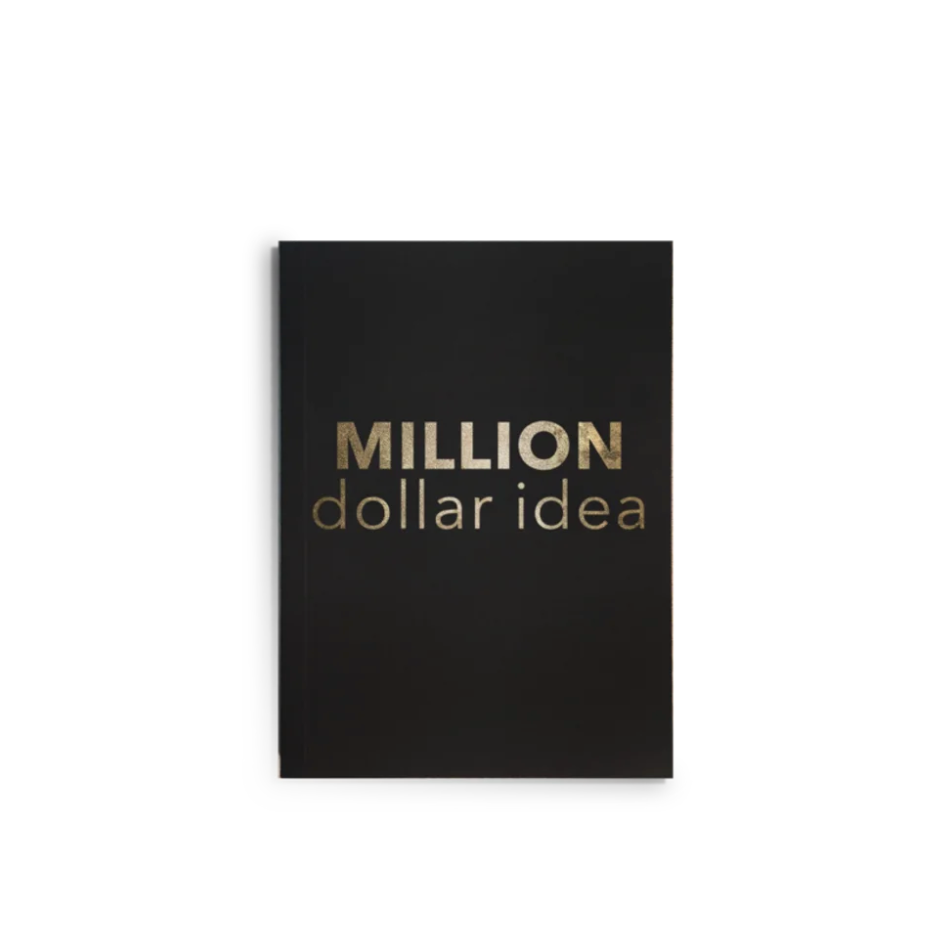 """Million Dollar Ideas"" Journal"