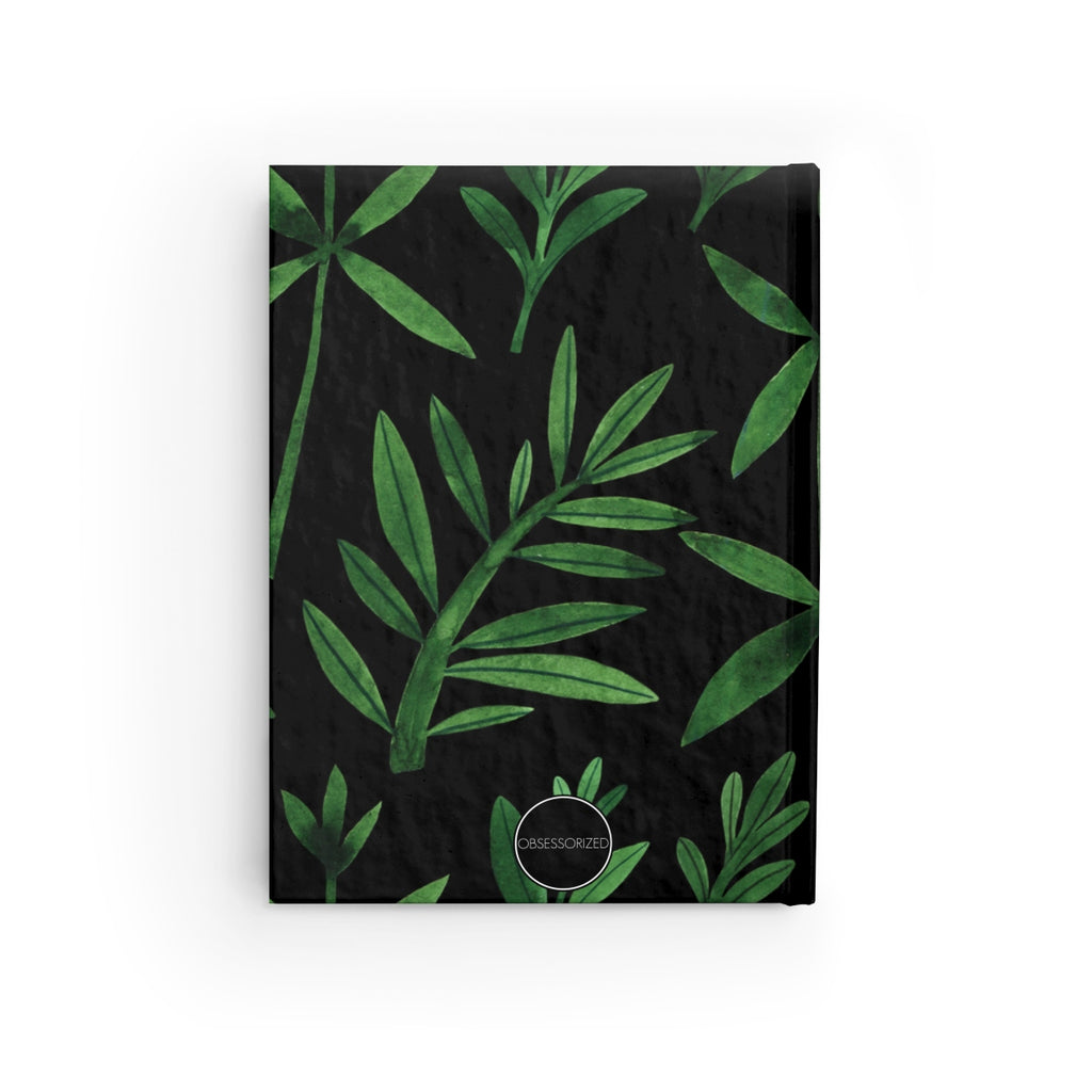 """Black Girls Should Never Be Afraid"" Hardcover Journal"