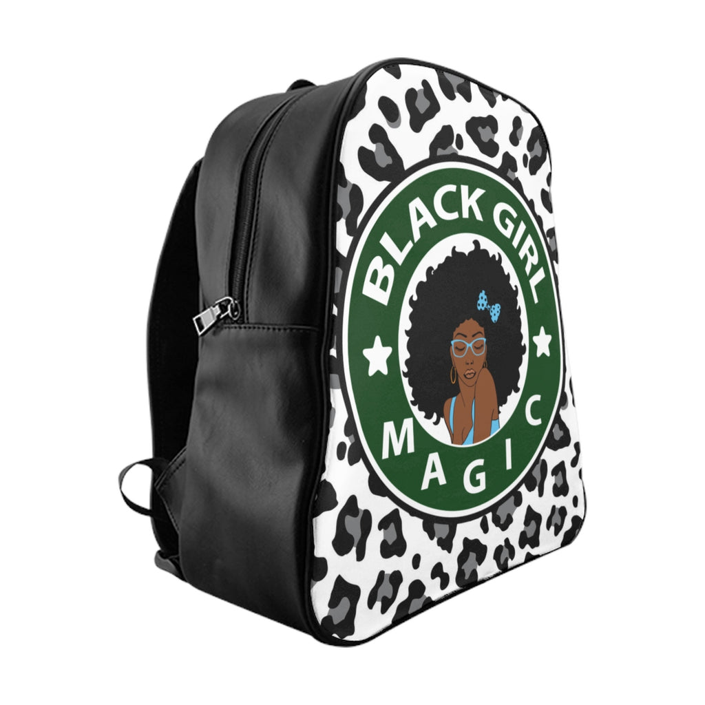 """Black And Educated"" School Backpack"