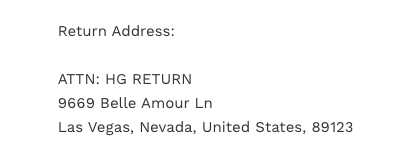 Hourglass Gal Return Address