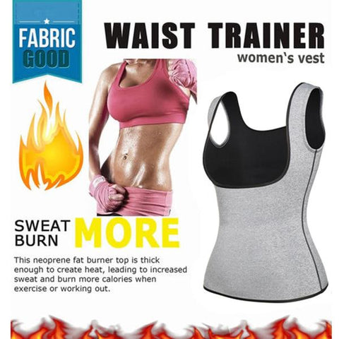 Neoprene Sweat Sauna Vest | Hourglass Gal
