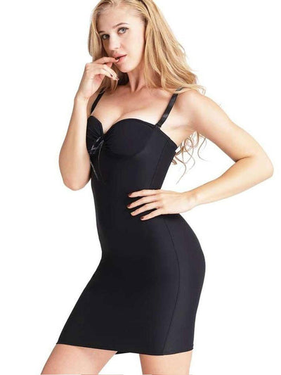 Full Body Shaper Sweetheart Dress body shaper S / Black Hourglass Gal