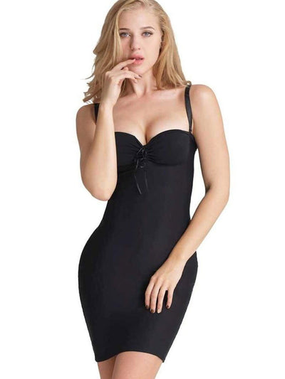 Full Body Shaper Sweetheart Dress body shaper XL / Black Hourglass Gal