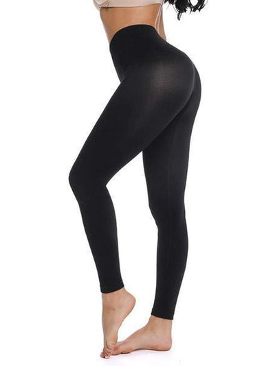 High-Waisted Hip Hugger Legging Black / L/XL Hourglass Gal