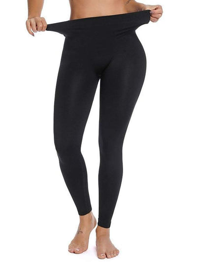 High-Waisted Hip Hugger Legging Black / S/M Hourglass Gal