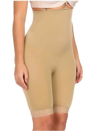 High-Waisted Shaper Short with Open-Rear Lift Butt Lifter Hourglass Gal