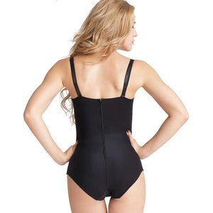 Body Shaper Black with Straps Hourglass Gal