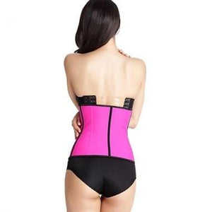 Waist Trainer Latex Waist Trainer for Women Pink Hourglass Gal