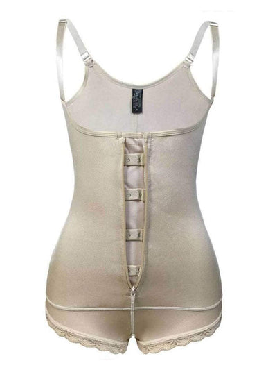 Invisible Firm Control Body Shaper body shaper Beige / S Hourglass Gal