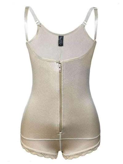 Invisible Firm Control Body Shaper body shaper Beige / XL Hourglass Gal
