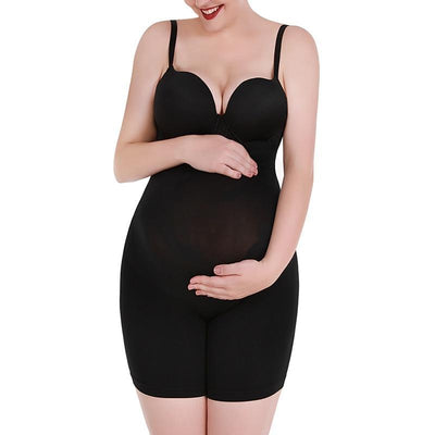 Maternity Shapewear for Dresses Women's Soft and Seamless Pregnancy Underwear High Waist Support Pregnancy Panties Shaper Shorts Hourglass Gal