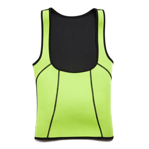 Neoprene Sauna Vest With Waist Belt, Active wear, kiwiloverx