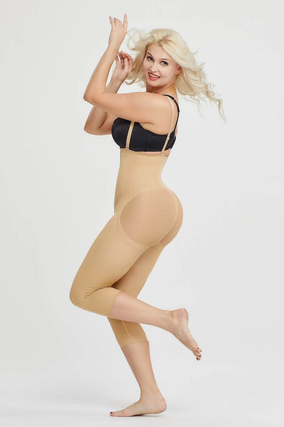Seamless Invisible Butt Lifter Shaping Legging Shapewear Hourglass Gal