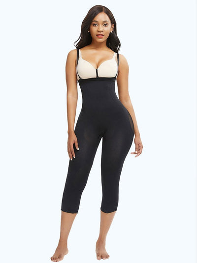 Seamless Invisible Butt Lifter Shaping Legging Shapewear S/M / Black Hourglass Gal