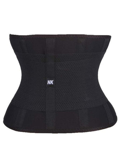 Waist Trainer Workout Belt Black waist training belt Hourglass Gal