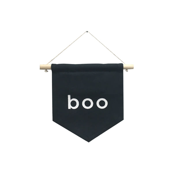 boo hang sign