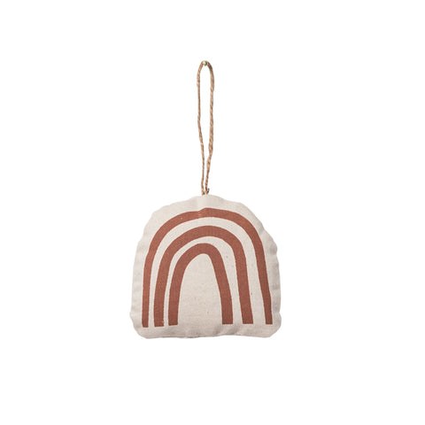 rust rainbow ornament (set of 10)