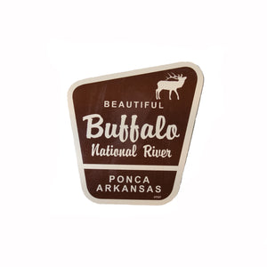 Beautiful Buffalo National River Elk Sticker