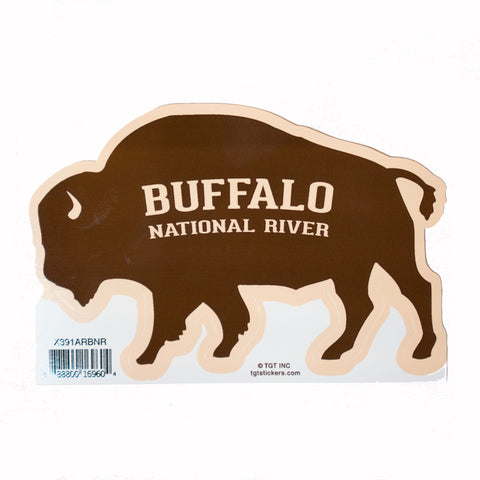 Buffalo Shape Sticker
