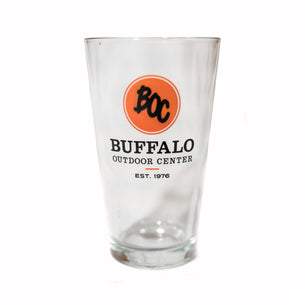 Pint Glass BOC Logo