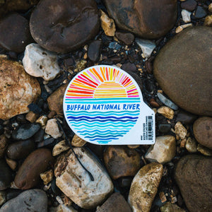 BNR Sunset Sticker
