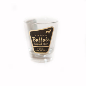 Shot Glass Beautiful Buffalo National River