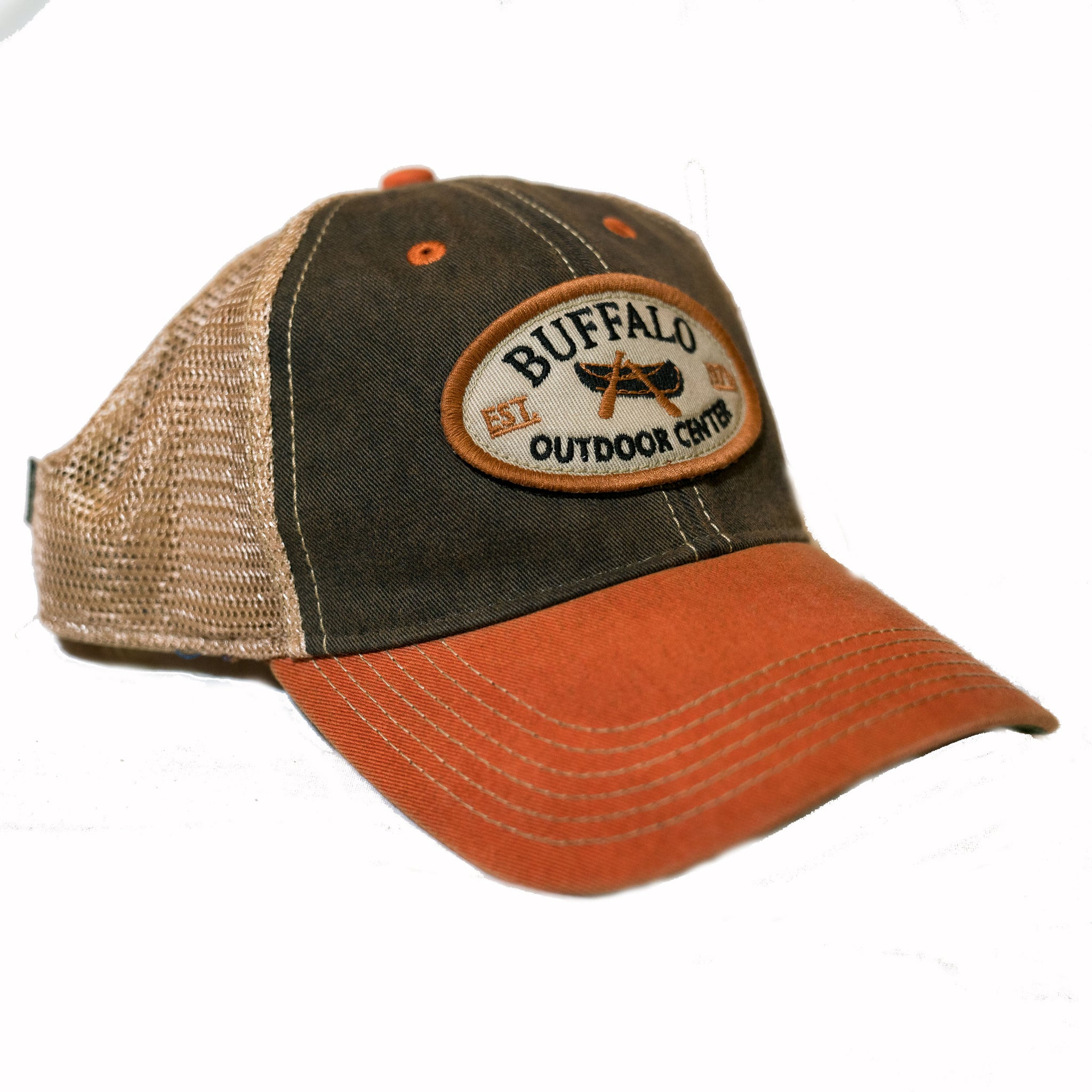 Legacy Trucker Hat Black/Orange