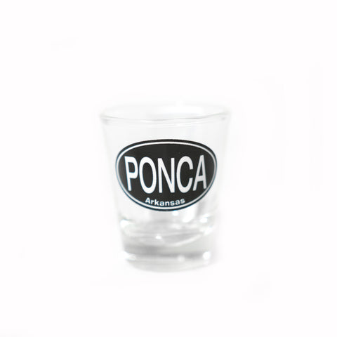 Shot Glass Ponca Arkansas