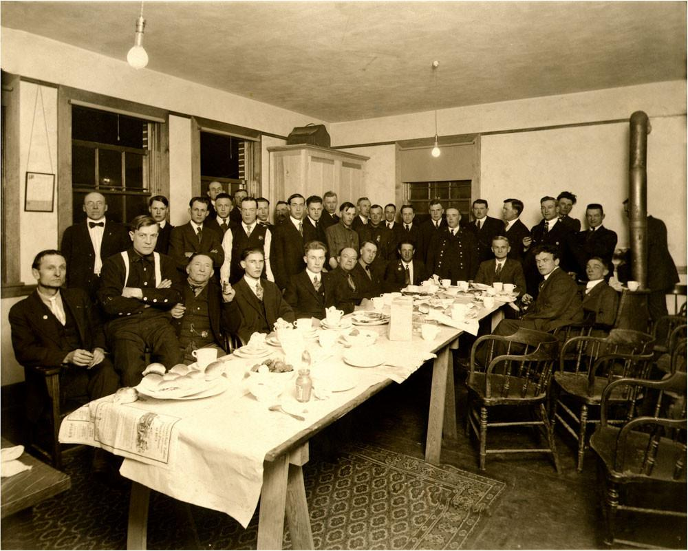 The Formal Dinner Historic Photo