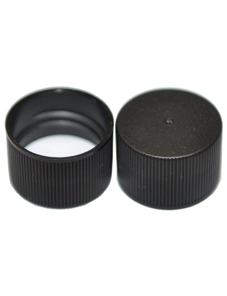 C24-410 BLACK POLYPROPYLENE PRESSURE SEAL LINED LID