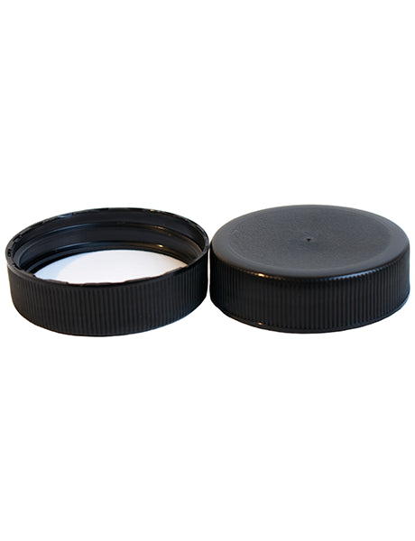 38-400 BLACK POLYPROPYLENE RIBBED LINED .035 PE FOAM (C38-400BPPRLPEF)
