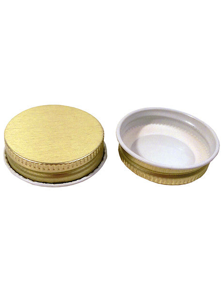 38-400 GOLD/WHITE METAL LINED PLASTISOL (C38-400GWMLP)