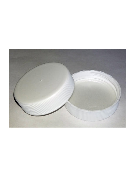 C38-400 WHITE PRESSURE SEAL UNLINED LID