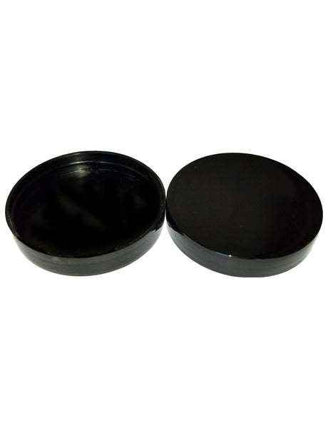 C63-400 MM BLACK PLASTIC WITH SMOOTH TOP AND SIDES, UNLINED
