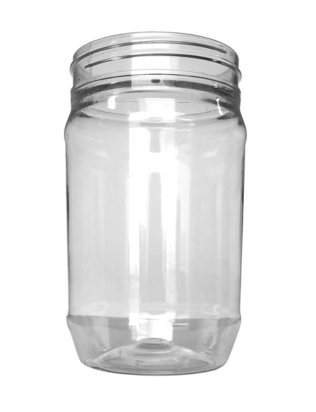 P16 OZ 70-400 MM PET SMOOTH BOTTOM JAR