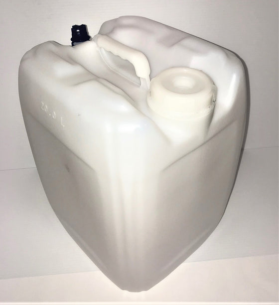 P20 LITER RECTANGULAR PLASTIC TIGHT HEAD CONTAINER