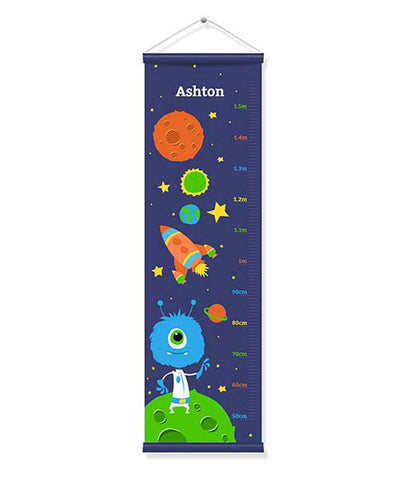 Canvas Growth Chart - Space