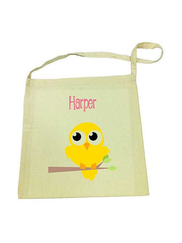 Library Bag - Yellow Bird