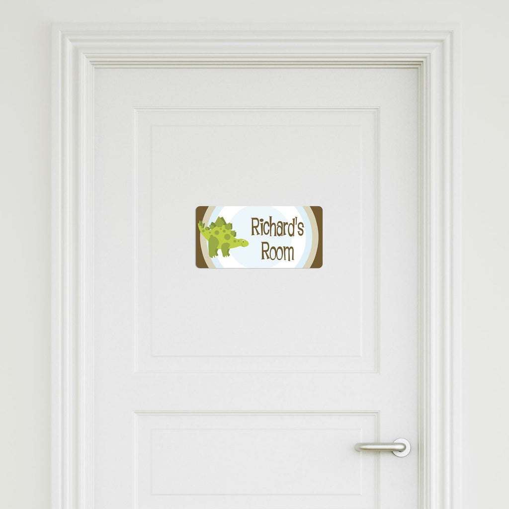 Dinosaur Small Door Sign